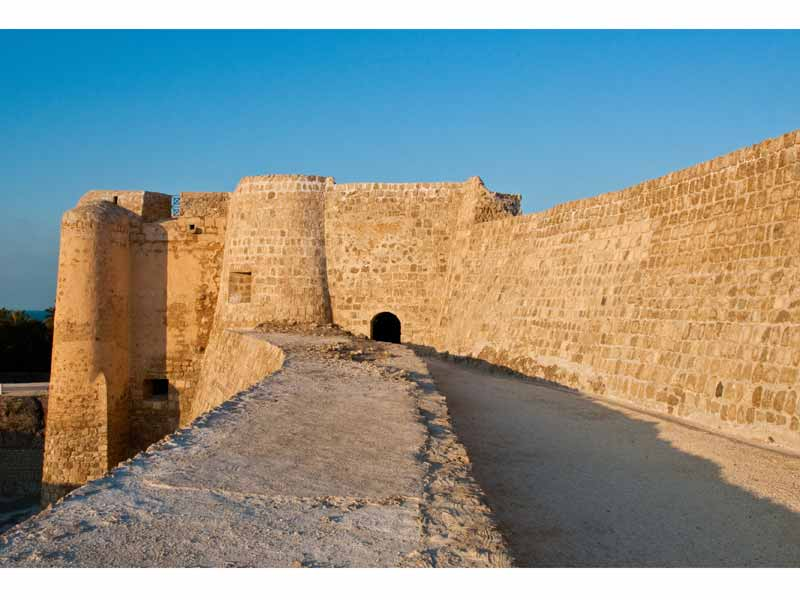 Bahrain Fort, tourist attraction