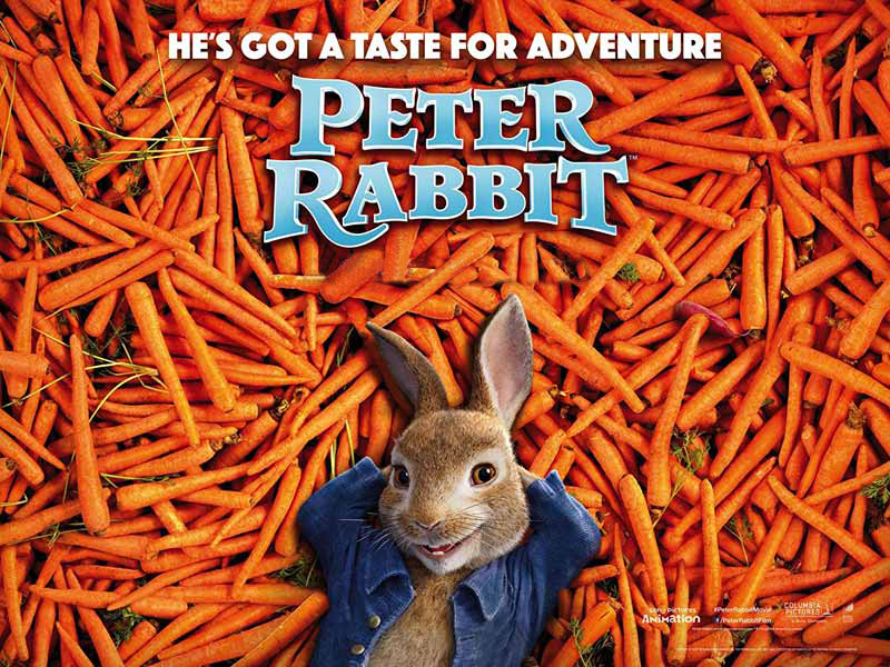 Watch James Cordon as Peter Rabbit at Vox Cinemas in Bahrain