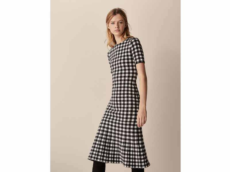 trendy Gingham dress by Massimo Dutti Bahrain