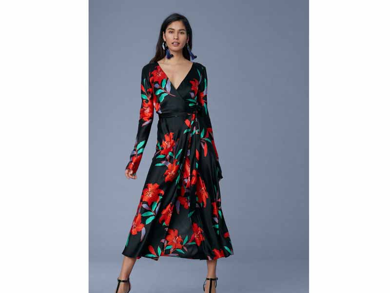 Classic wrap dress from Diane von Furstenberg Middle East