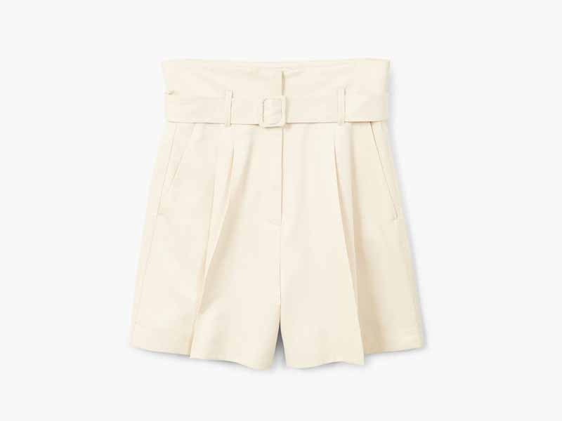 Belted shorts from Mango Middle East