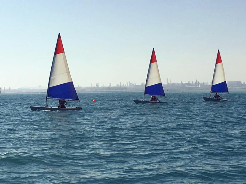 An afternoon at Bahrain Yacht Club