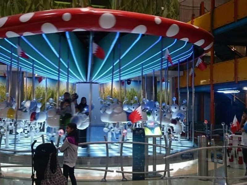 Children and parents at Magic Planet, City Centre Bahrain