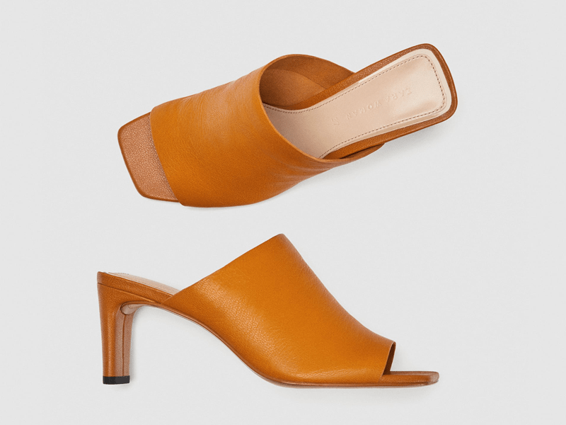 Mule heels by Zara available at City Centre Bahrain