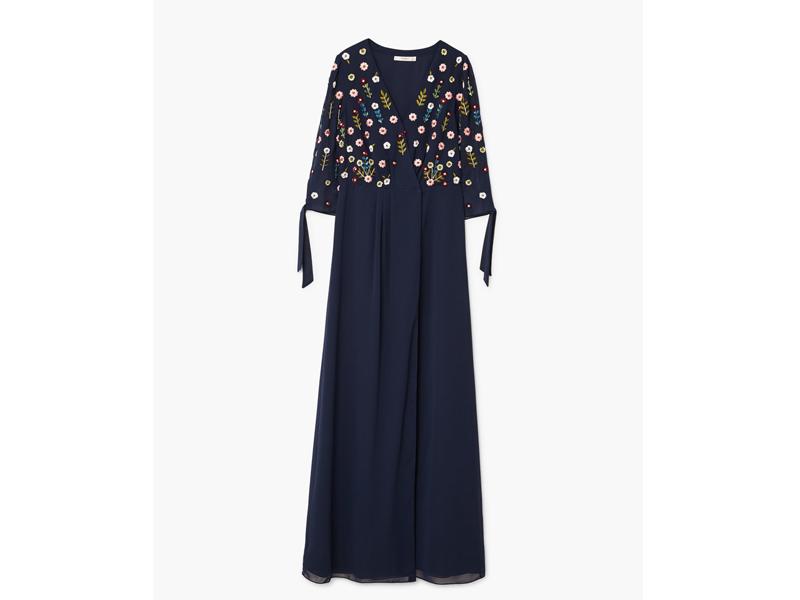 9ea84932e516a فستان أزرق داكن مرصّع بالترتر من مانجو في مول الإمارات ومراكز سيتي سنتر