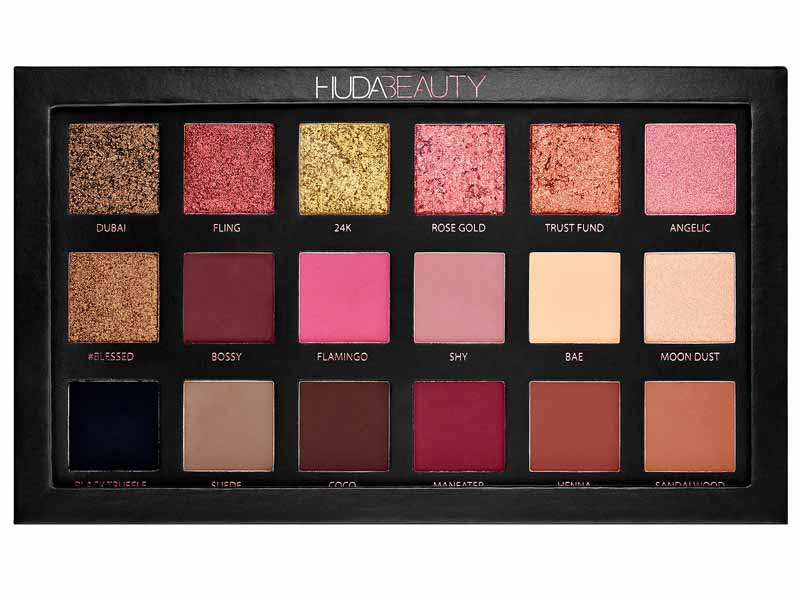 Rose Gold Edition Eyeshadow Palette, Huda Beauty at Sephora Bahrain