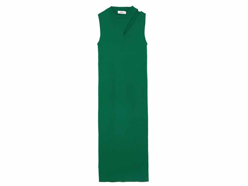 Dress by Zara, available at Mall of the Emirates and Mall of Egypt, plus City Centres