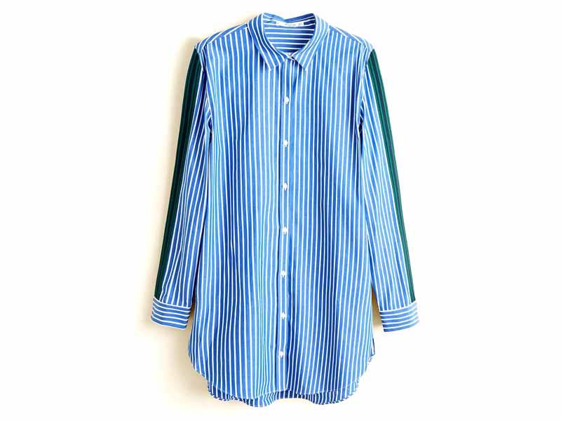 f5de17f9943e6 قميص بأكمام طويلة، من مانجو، في مول الإمارات ومراكز سيتي سنتر للتسوق
