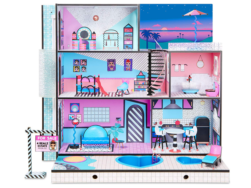 L.O.L. Surprise Dollhouse from Virgin Megastore, available at City Centre Bahrain