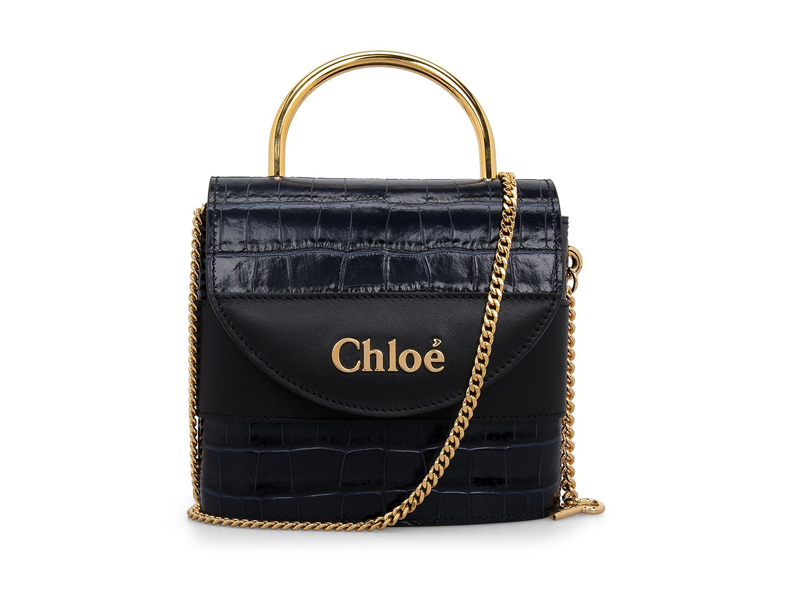 Small Aby Lock Bag by Chloé, available at City Centre Bahrain