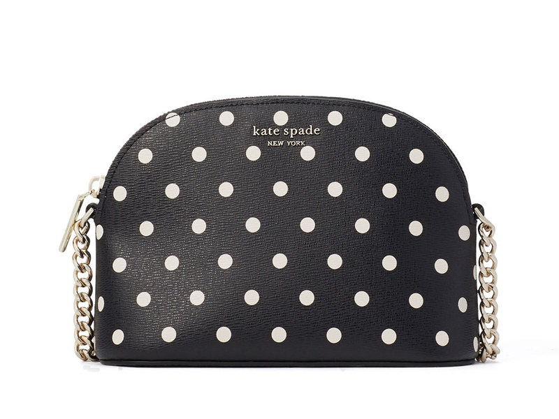 Spencer Cabana Dot Small Dome Cross body bag from Kate Spade, available at City Centre Bahrain