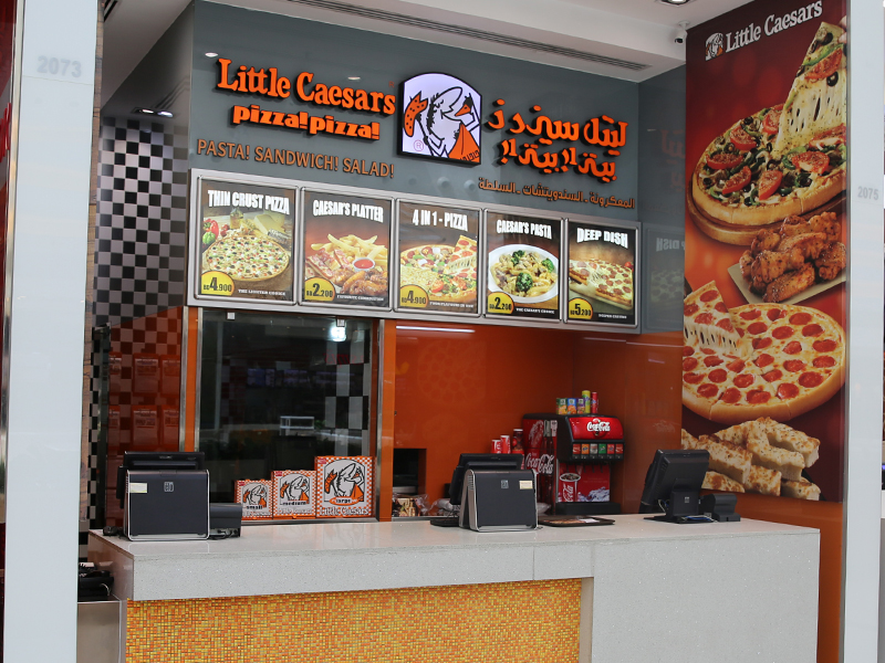 Little Caesars In Bahrain Pizzas Amp Sides City Centre