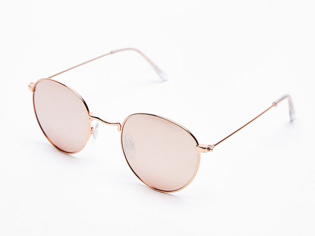 Shop for mirrored metal sunglasses from Bershka at City Centre Bahrain