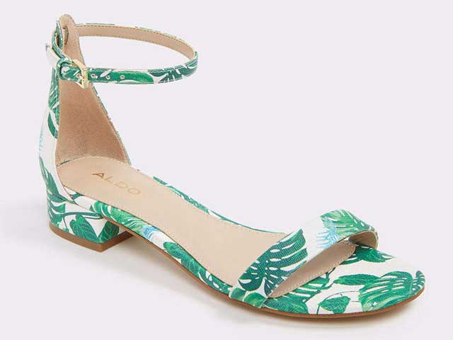 Printed sandals from Aldo at City Centre Bahrain