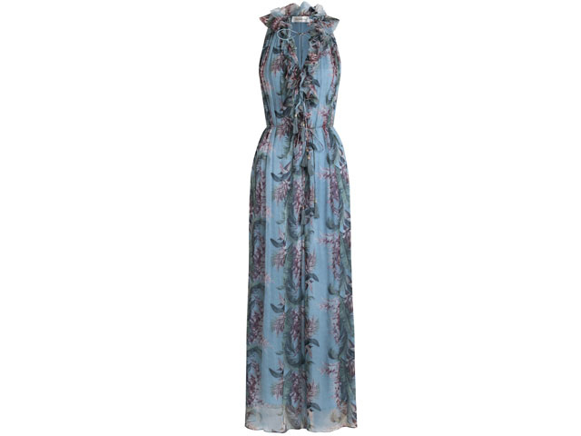 Floral jumpsuit by Zimmermann at Harvey Nichols Dubai, Mall of the Emirates